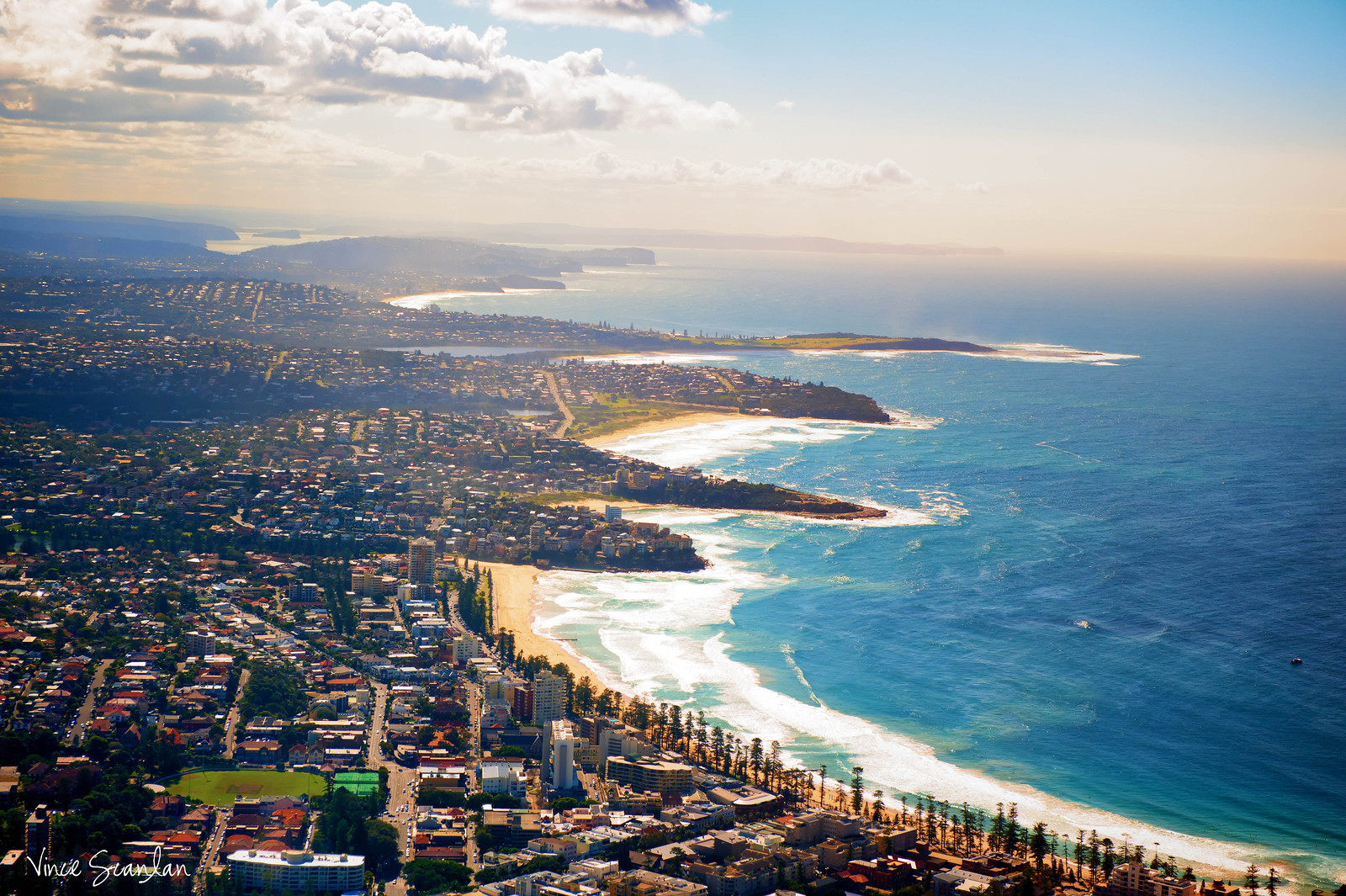 Bondi Beach by Air
